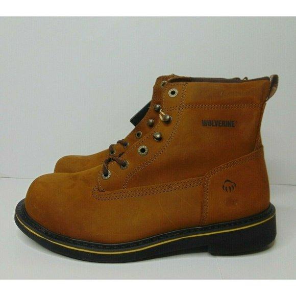 95 Foster 6 Inch Work Boots Brown Steel